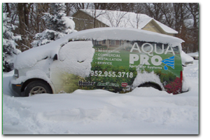 Aqua Pro Winterization Service Request